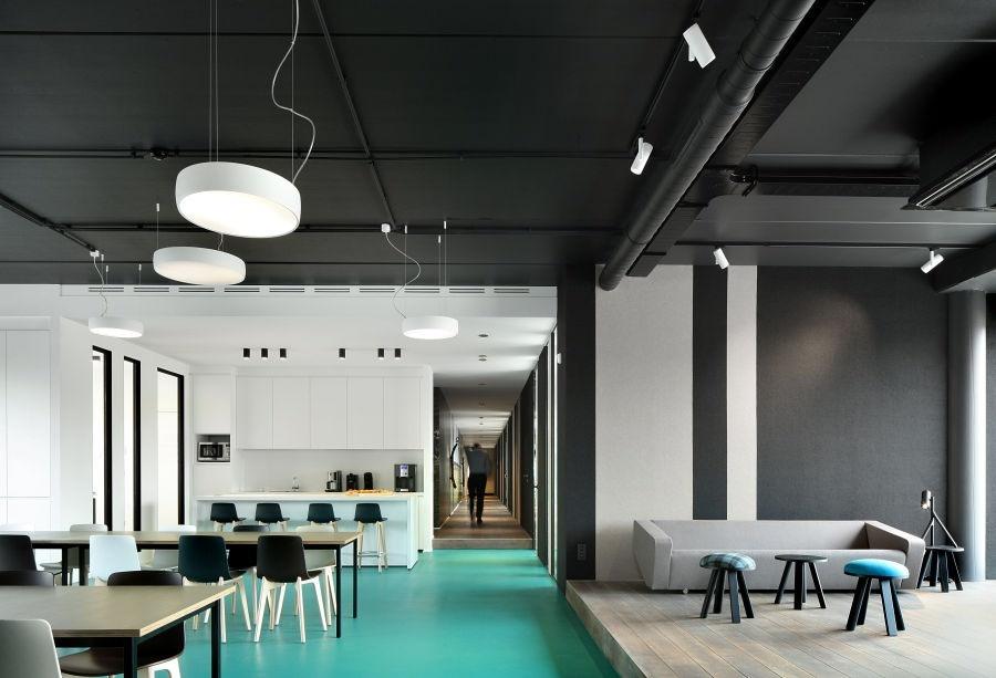 modular verlichting kantoor plafondjpg